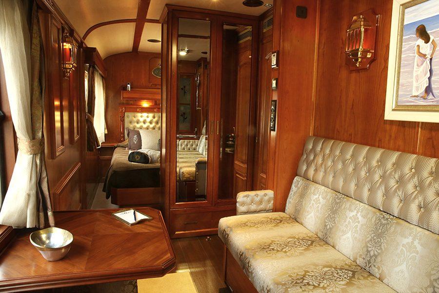 Suite deluxe du Train El Transcantabrico Gran Lujo