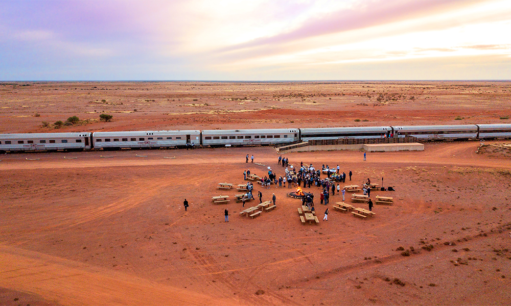 Expedition Train The Ghan