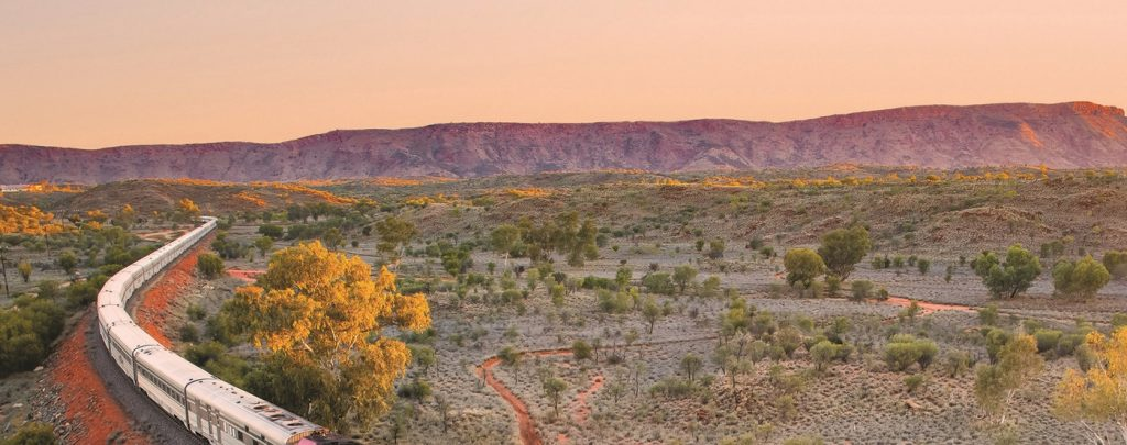 Train The Ghan Alice Spring