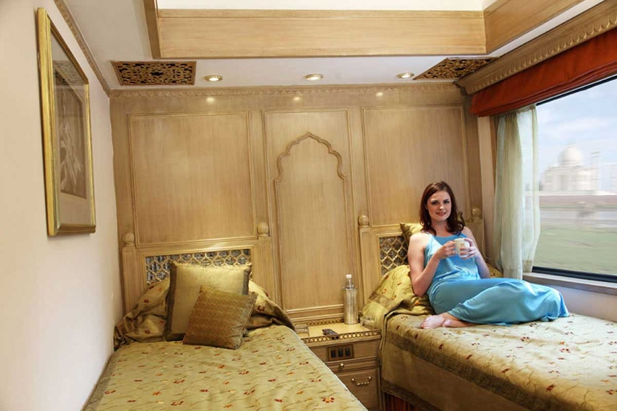 Suite twin du Train Maharajas Express