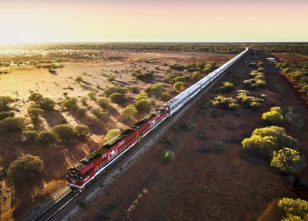 Train The Ghan en Australie