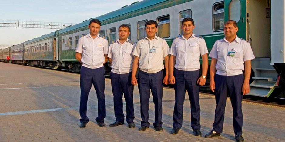 Equipe du Train Registan Orient Silk Road Express