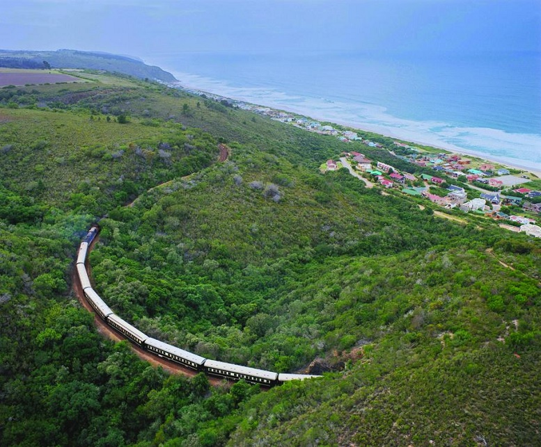 Circuit en Good Hope en Train Shongololo Express