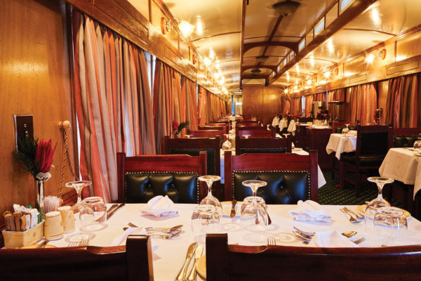 Restaurant du Train Shongololo Express