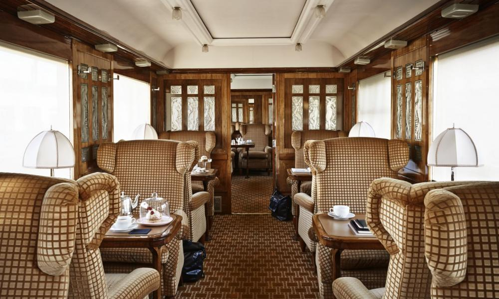 Voiture salon du Train Orient Express 2